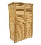 armario exterior de madera