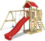 parque infantil con arenero